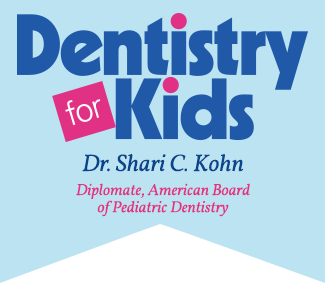 Logo for pediatric dentist Dr. Shari Kohn