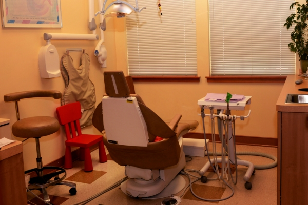 Photo of operatory for Pediatric dentist Dr. Shari Kohn