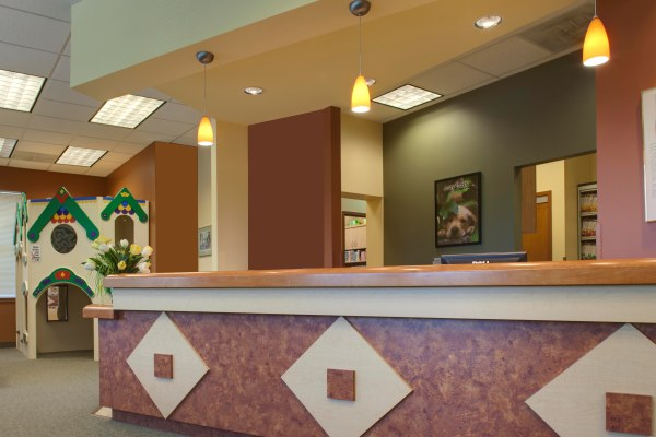 Photo of front desk for Pediatric dentist Dr. Shari Kohn